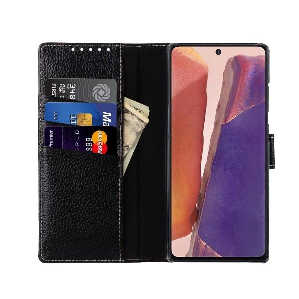StilGut - Samsung Galaxy Note 20 Flip Cover Talis mit Kartenfach