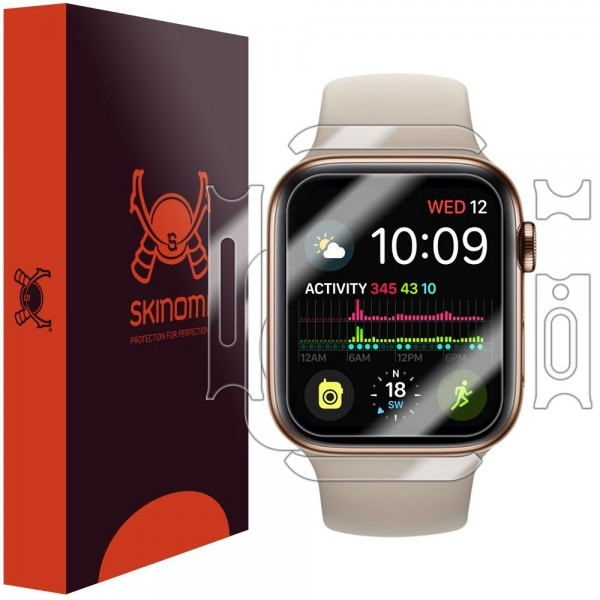 Skinomi - Apple Watch Series 4 (40 mm) Displayschutzfolie Full Body