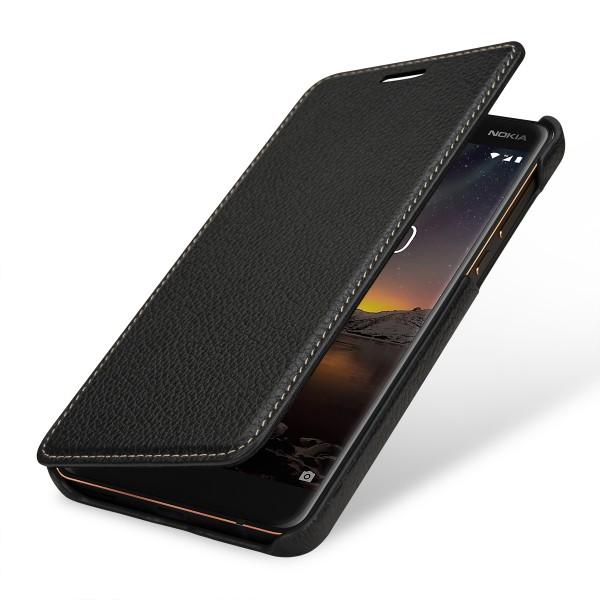 StilGut - Nokia 6.1 Case Book Type ohne Clip