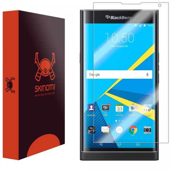 Skinomi - Displayschutzfolie BlackBerry PRIV TechSkin