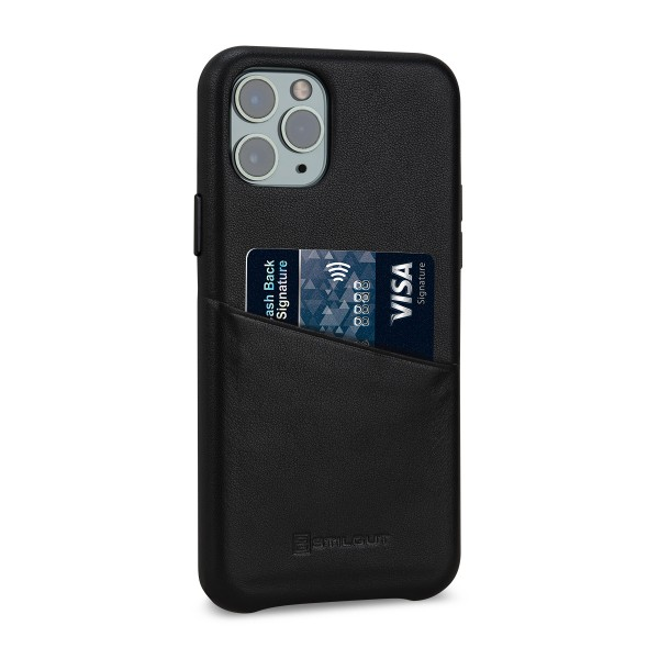 StilGut - iPhone 11 Pro Cover Premium mit Kartenfach