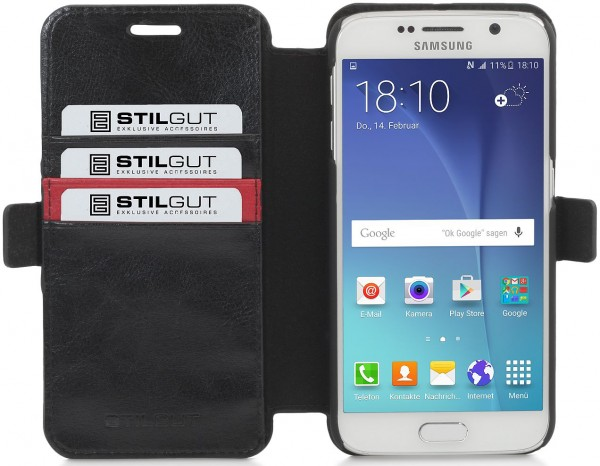 "StilGut - Handyhülle für Galaxy S6 ""Talis"""