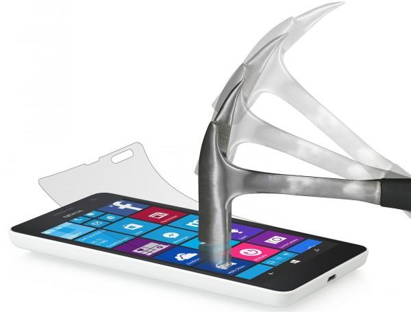 StilGut - Panzerglasfolie für Lumia 535 (2er-Pack)