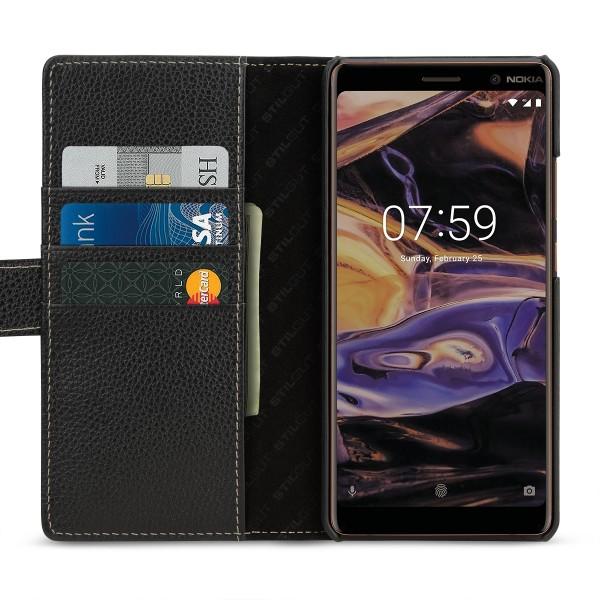 StilGut - Nokia 7 Plus Hülle Talis mit Kartenfach