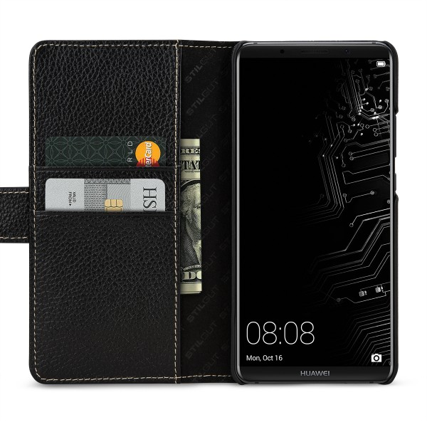StilGut - Huawei Mate 10 Pro Hülle Talis mit Kreditkartenfach