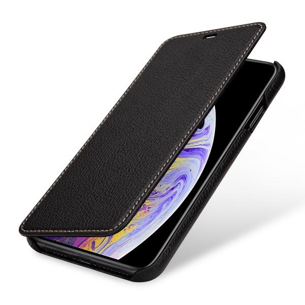 StilGut - iPhone XS Max Case Book Type ohne Clip
