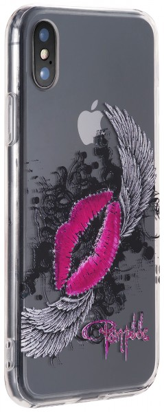 POMPÖÖS by StilGut - iPhone XS Cover Kuss - Design by HARALD GLÖÖCKLER
