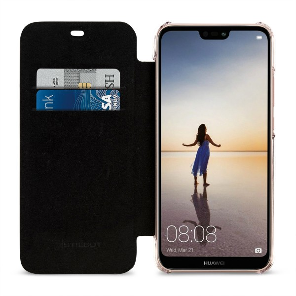 Huawei P20 lite NFC/RFID Blocking Hülle Book Type