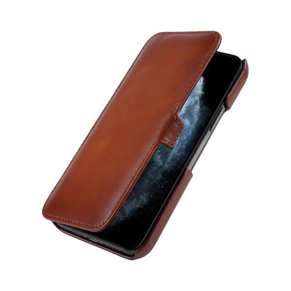 StilGut - iPhone 12 Pro Tasche Book Type mit Clip