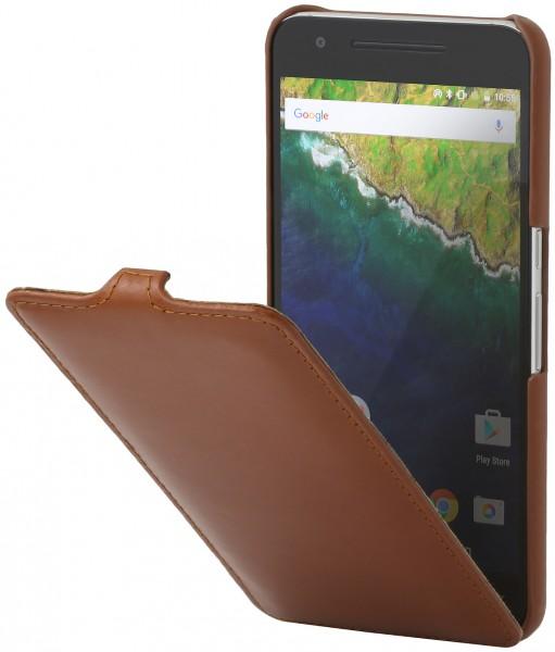 StilGut - Nexus 6P Hülle UltraSlim aus Leder