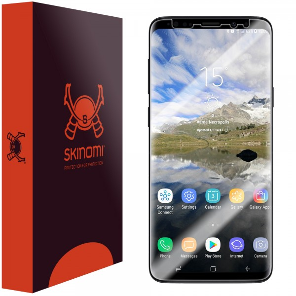 Skinomi - Displayschutzfolie Samsung Galaxy S9+ TechSkin Maximum Coverage