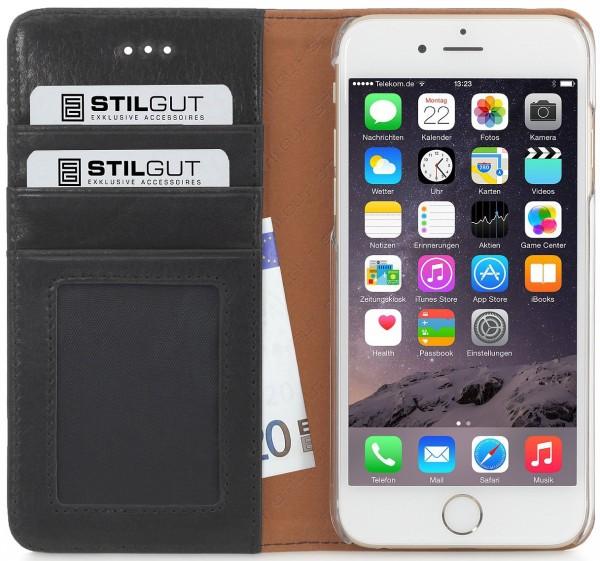 "StilGut - Handyhülle für iPhone 6 ""Italian Series"" Talis aus Leder"