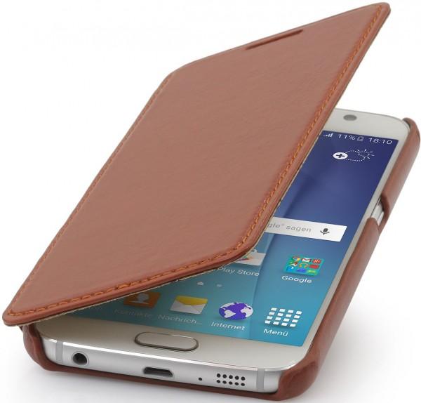 """StilGut - Handyhülle für Galaxy S6 """"Book Type"""" ohne Clip"""