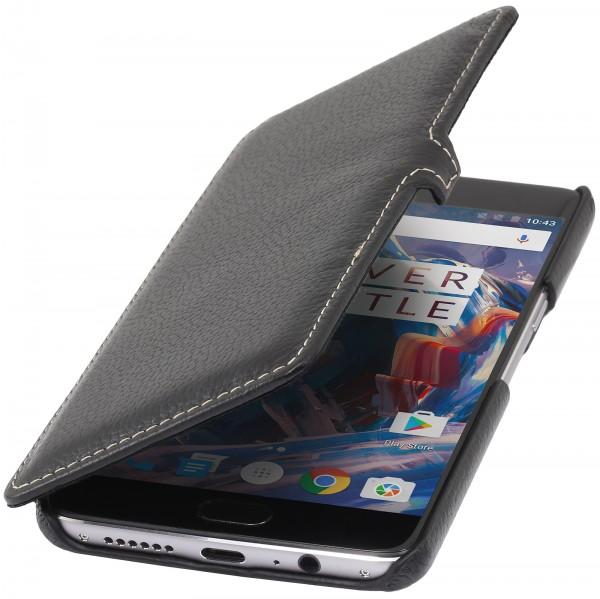 StilGut - OnePlus 3 Tasche Book Type mit Clip