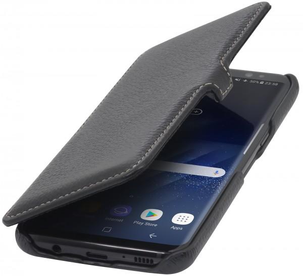 StilGut - Samsung Galaxy S8+ Tasche Book Type mit Clip