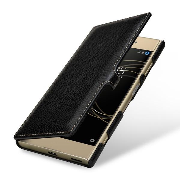 StilGut - Sony Xperia XA1 Plus Tasche Book Type mit Clip