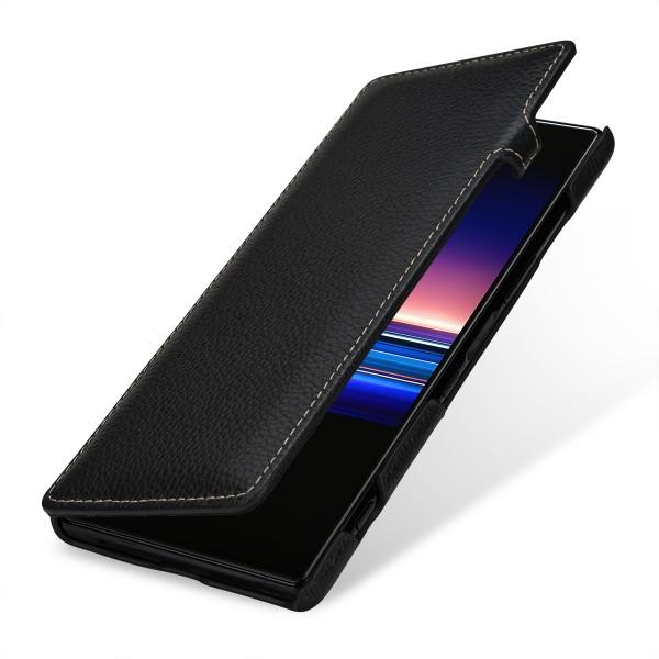 StilGut - Sony Xperia 1 Tasche Book Type mit Clip