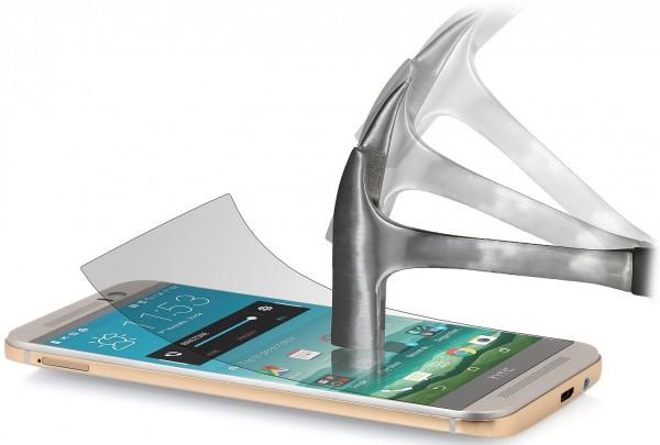 StilGut - Panzerglasfolie für HTC One M9 (2er-Pack)