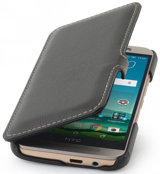 """StilGut - Handyhülle für HTC One M9 """"Book Type"""" mit Clip"""