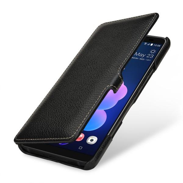 StilGut - HTC U12+ Tasche Book Type mit Clip