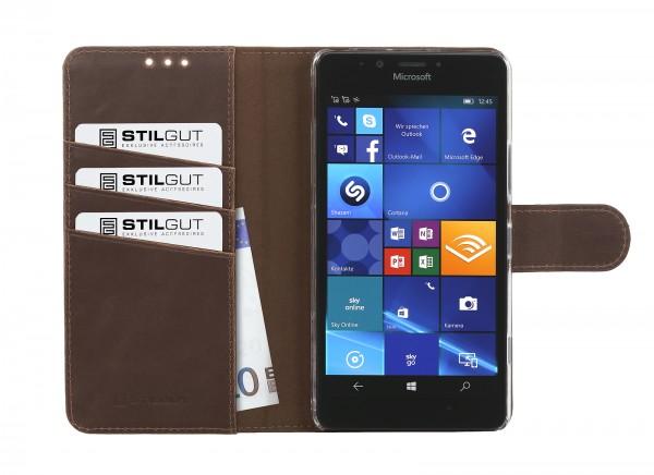 StilGut - Lumia 950 Hülle Talis mit Standfunktion