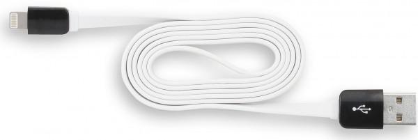 StilGut - Magic Lightning Kabel für Apple Geräte (1 m), schwarz /weiß