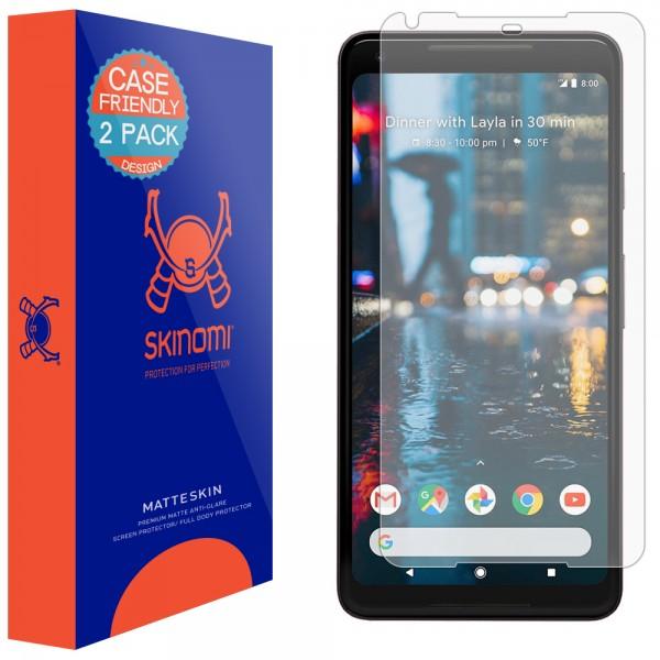 Skinomi - Displayschutzfolie Google Pixel 2 XL MatteSkin (2er Pack)