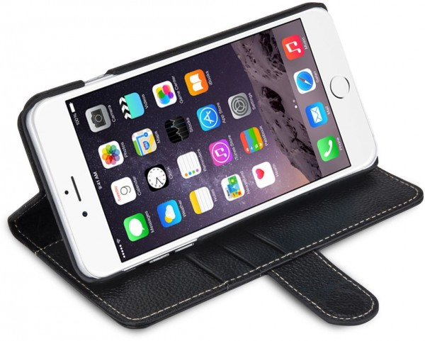 StilGut - Handyhülle für iPhone 6 Plus Talis mit Standfunktion V2