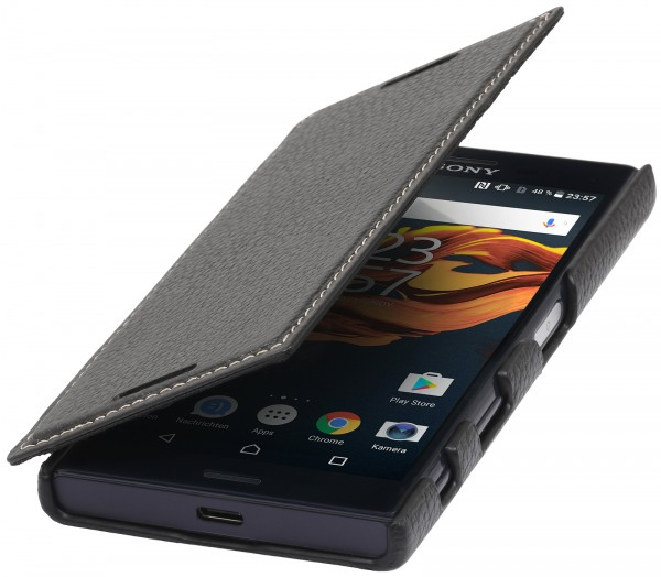 StilGut - Sony Xperia X Compact Case Book Type ohne Clip