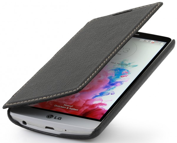 "StilGut - Ledertasche ""Book Type"" für LG G3s"