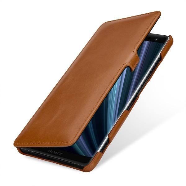 StilGut - Sony Xperia XZ3 Tasche Book Type mit Clip