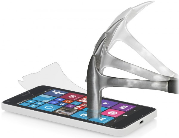 StilGut - Panzerglasfolie für Lumia 640 (2er-Pack)