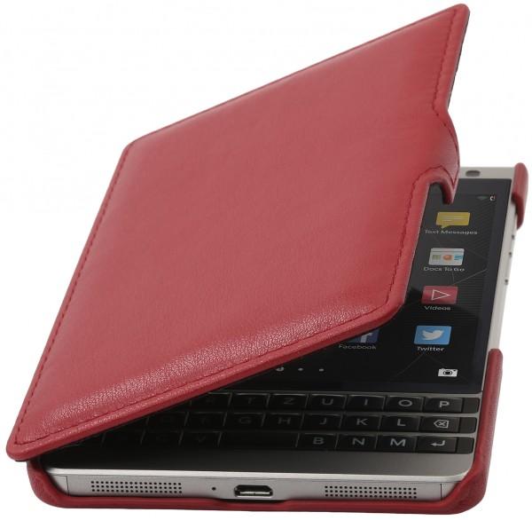 """StilGut - BlackBerry Passport Silver Edition Tasche """"Book Type"""" mit Clip"""