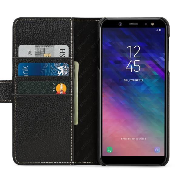 StilGut - Samsung Galaxy A6 Plus (2018) Hülle Talis mit Kartenfach
