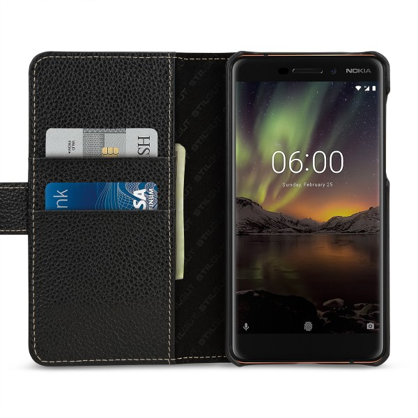 StilGut - Nokia 6.1 Hülle Talis mit Kartenfach