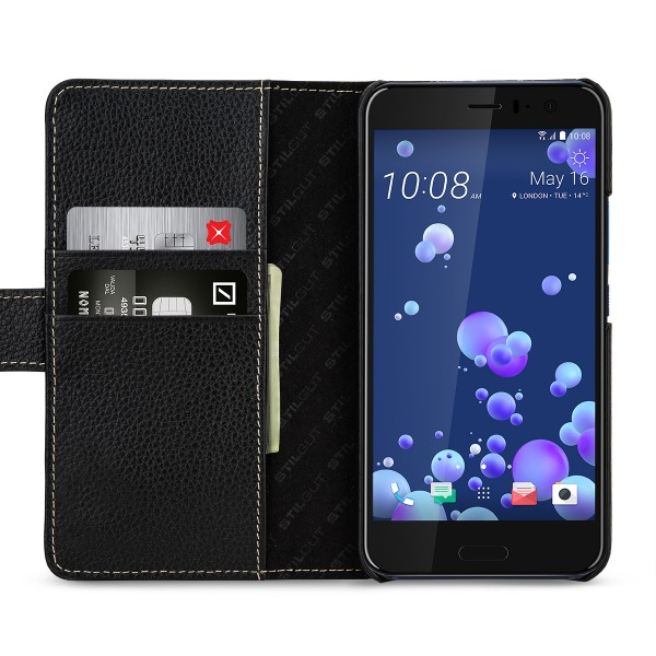 StilGut - HTC U 11 Hülle Talis mit Kreditkartenfach