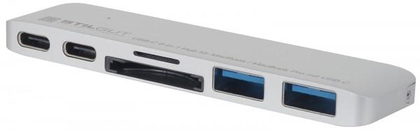StilGut - USB-C Hub mit Ladefunktion (MacBook Pro Version)
