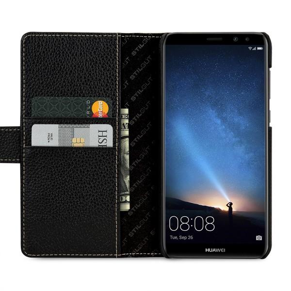 StilGut - Huawei Mate 10 lite Hülle Talis mit Kreditkartenfach