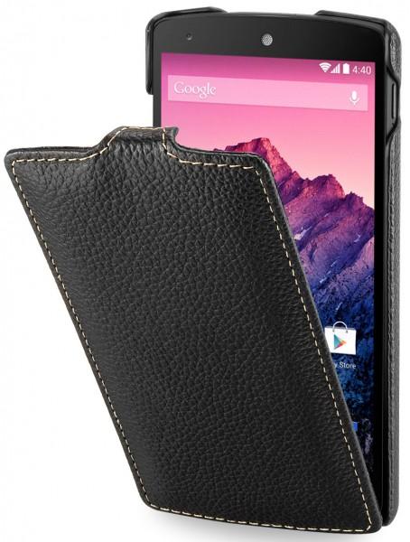 StilGut - UltraSlim Case für Google Nexus 5 aus Leder