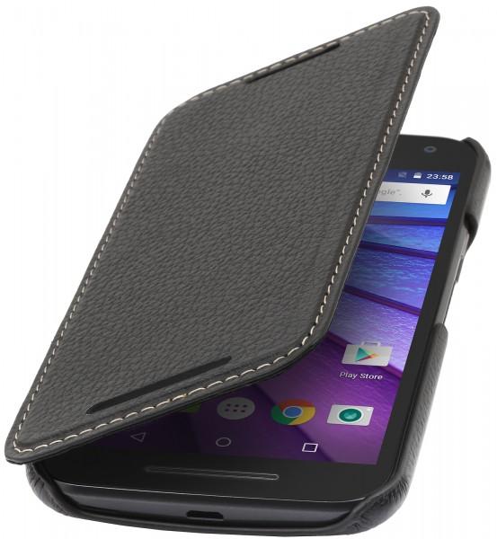 """StilGut - Handyhülle für Motorola Moto G (3. Gen.) """"Book Type"""" ohne Clip"""