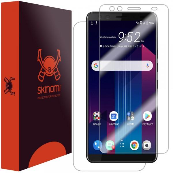 Skinomi - HTC U12+ Displayschutzfolie TechSkin Vorder- & Rückseite