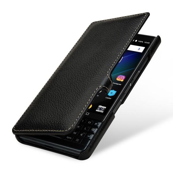StilGut - BlackBerry KEY2 LE Tasche Book Type mit Clip