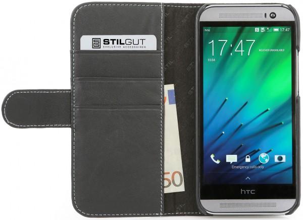 "StilGut - Ledertasche ""Talis"" für HTC One M8 / M8s"