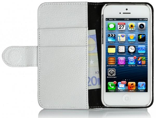 "StilGut - Ledertasche ""Talis"" V2 für iPhone 5 & iPhone 5s"