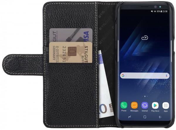 StilGut - Samsung Galaxy S8 Hülle Talis mit Kreditkartenfach