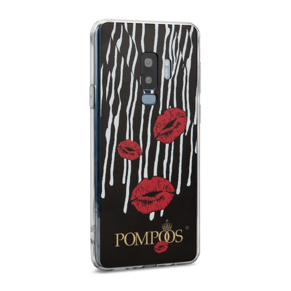 POMPÖÖS by StilGut - Samsung Galaxy S9 Plus Cover Kuss - Design by HARALD GLÖÖCKLER
