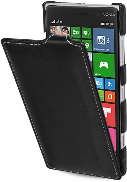 """StilGut - Handyhülle für Nokia Lumia 830 """"UltraSlim"""" aus Leder"""