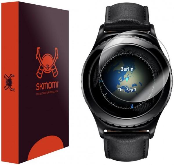 Skinomi - Displayschutzfolie Samsung Gear S2 Classic TechSkin