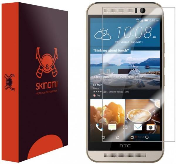 Skinomi – Displayschutzfolie für HTC One M9 TechSkin