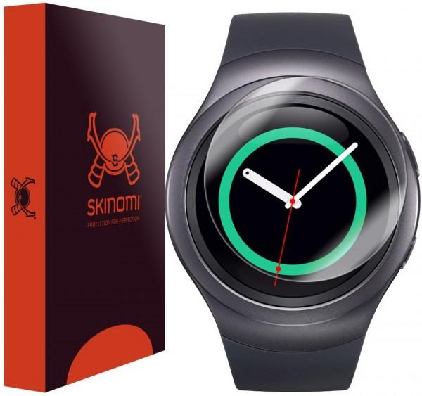 Skinomi - Displayschutzfolie Samsung Gear S2 TechSkin
